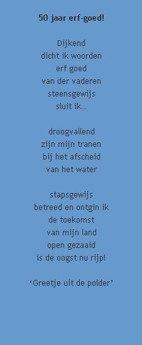 50 jaar oud gedicht Gedicht Voor 50 Jarige Vrouw   ARCHIDEV 50 jaar oud gedicht